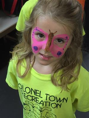More face painting fun!